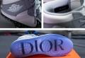 La Dior x Air Jordan 1 a fait ses premiers pas à Miami