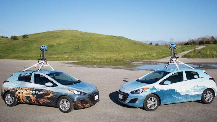Google dévoile les millions de kilomètres parcourus par sa flotte de Street View cars