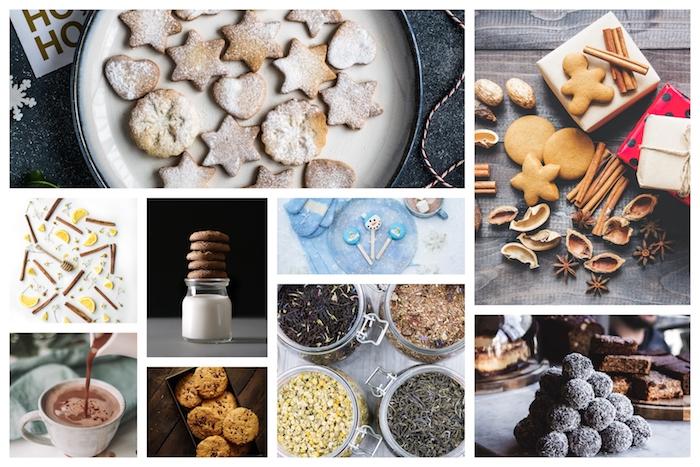 Vie sans plastique, idée cadeau écolo diy, préparer des biscuits de noel, inspiration choix cadeau zéro dechet