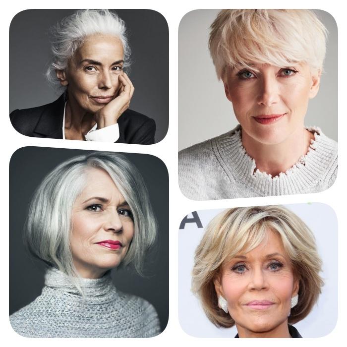 Coupe de cheveux pour femme de 60 ans – point sur les coupes qui rajeunissent – 2021