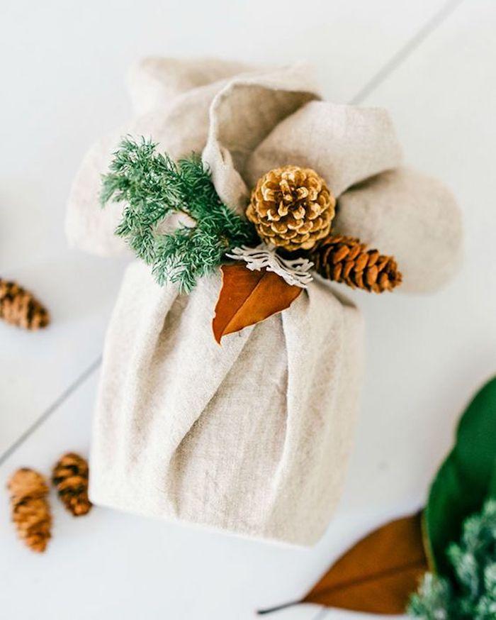 Emballer des cadeaux à la méthode furoshiki, cadeau fete des peres a fabriquer, offrir une experiénce