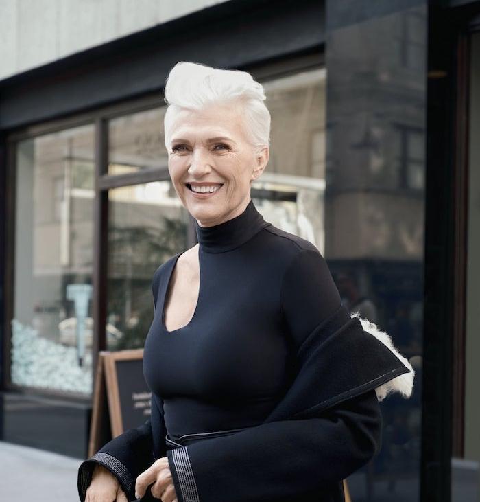 plusieurs idees de coupe de cheveux femme 60 ans, choisir un dégradé ou bien une coupe pixie