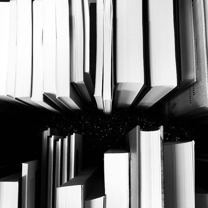 Livres photo noir et blanc art graphique, comment décorer l'écran de son ordinateur