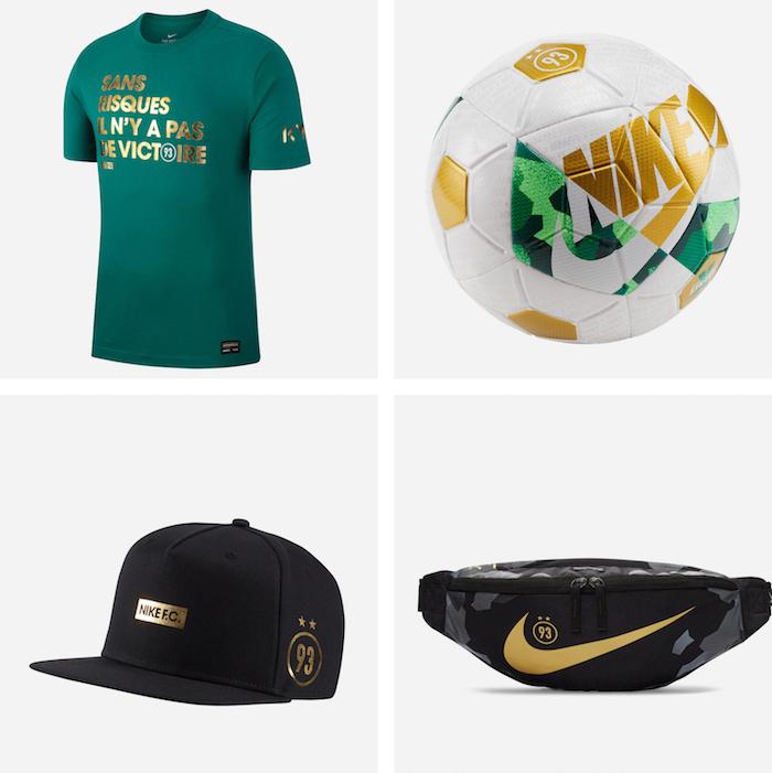 La collection Nike x MBappé rend hommage à la ville de Bondy à travers la couleur verte