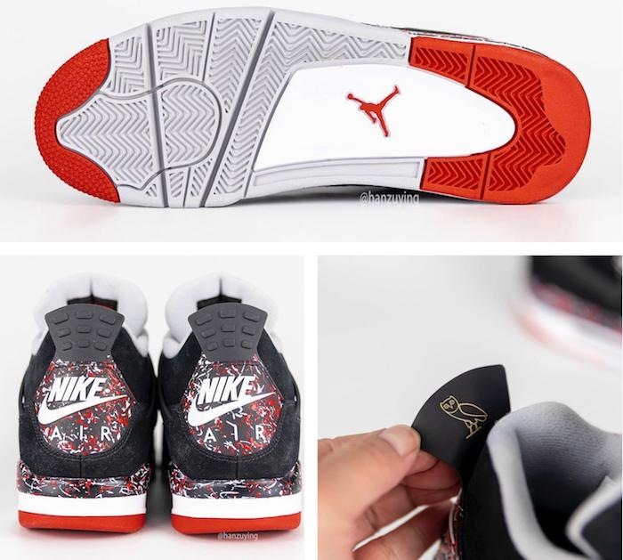 Nike et Drake réitèrent leur partenariat avec l'annonce pour 2020 d'une nouvelle paire Air Jordan 4 x OVO version Splatter