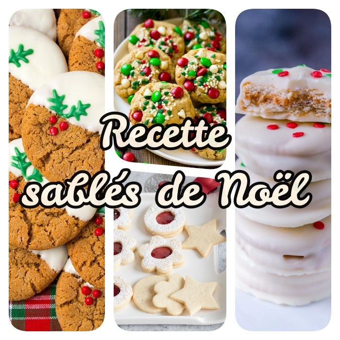 recette sablés de noel simples avec options sans gluten et sans sucre, idee comment faire un dessert de noel simple