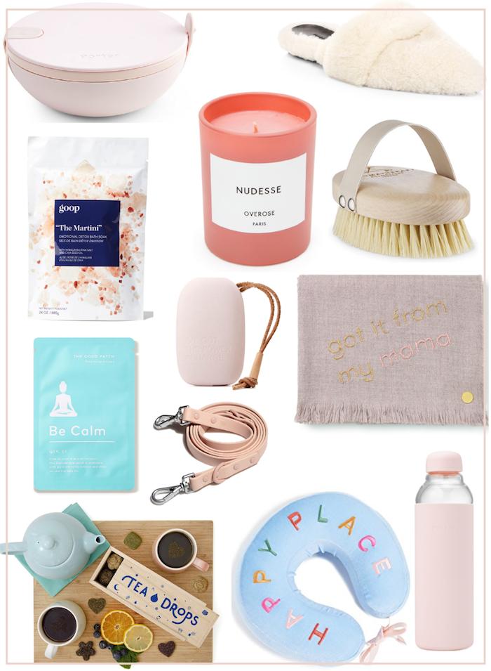 Quelques idées de cadeau bio, idée cadeau zéro déchet pour son époux, bougie, brosse pour la bain, bouteille d'eau à emporter