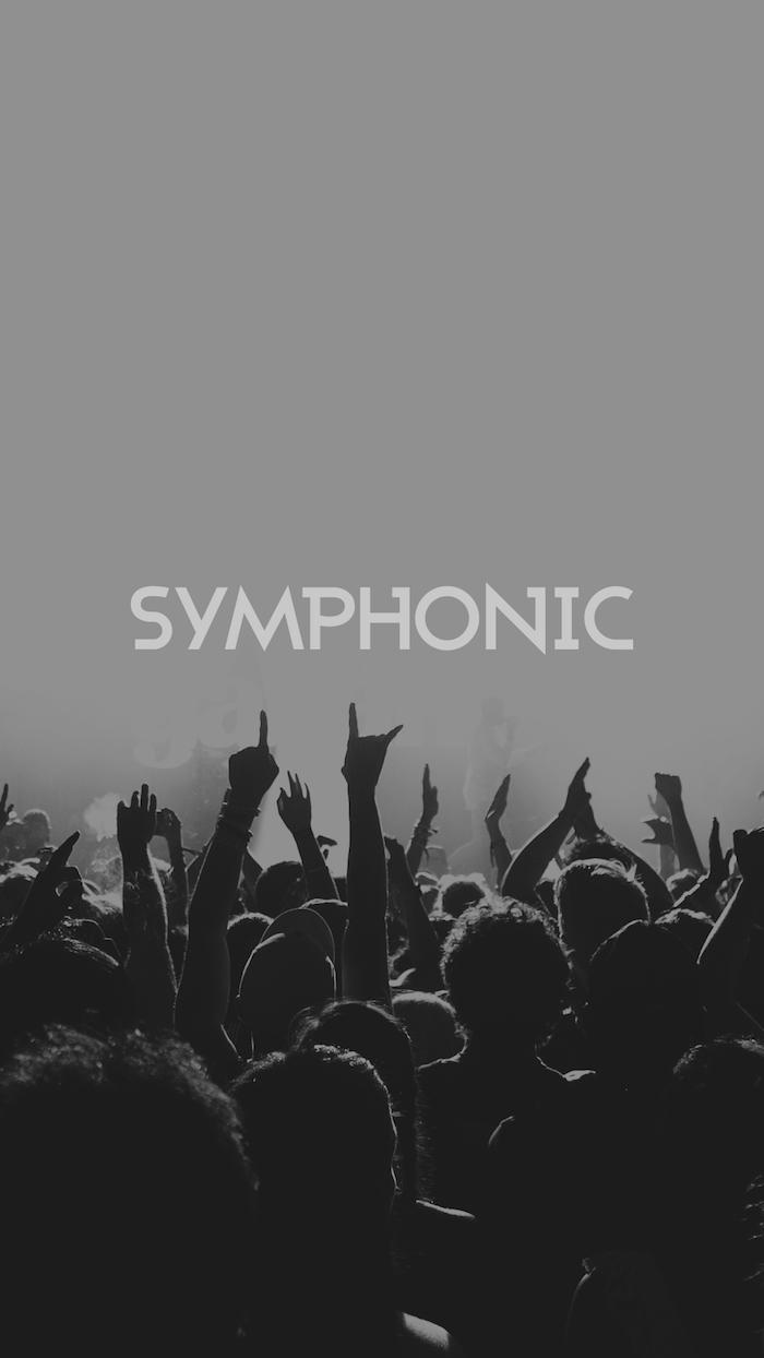 Symphonique fond ecran swag à l'esthétique de tumblr, cool photo stylée