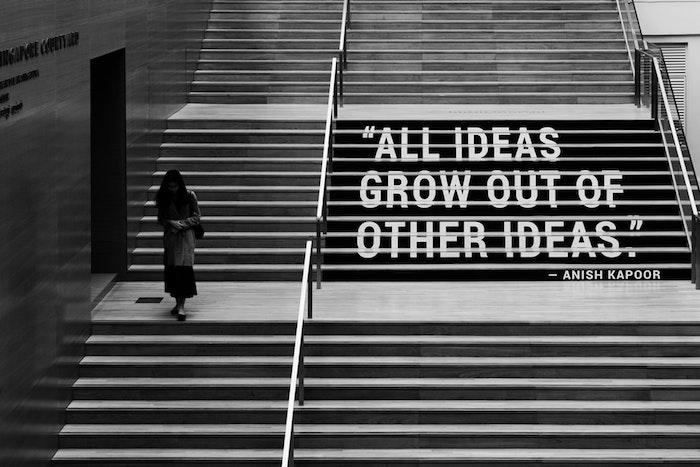 Escalier avec message pour les idées fond ecran tumblr, image de style à copier pour son fond ecran