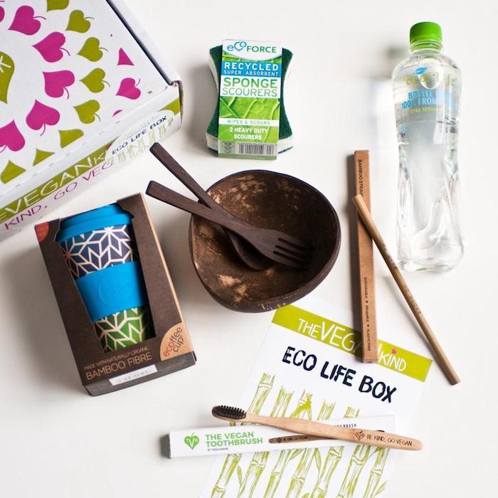 Gobelet bamboo jolie déco, idee cadeau fait maison, idée cadeau zéro déchet petits objets