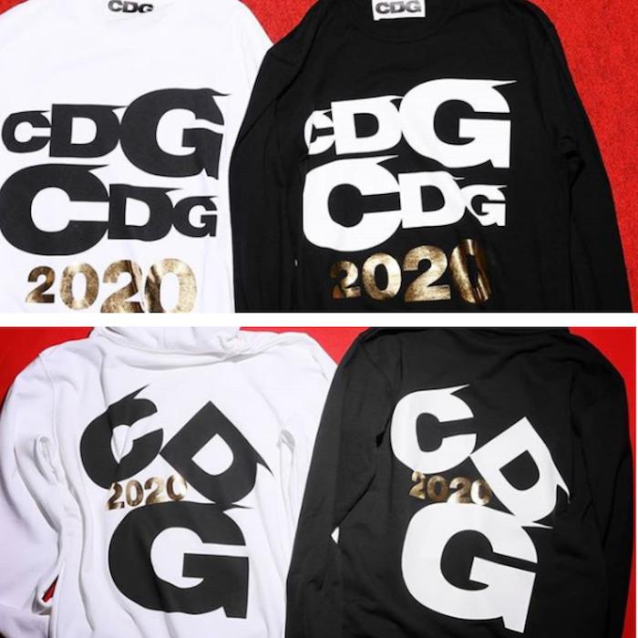 Ca collab Vans CDG 2019 présente une paire de Lampin et des sweats noir et blanc, disponibles le 11 décembre