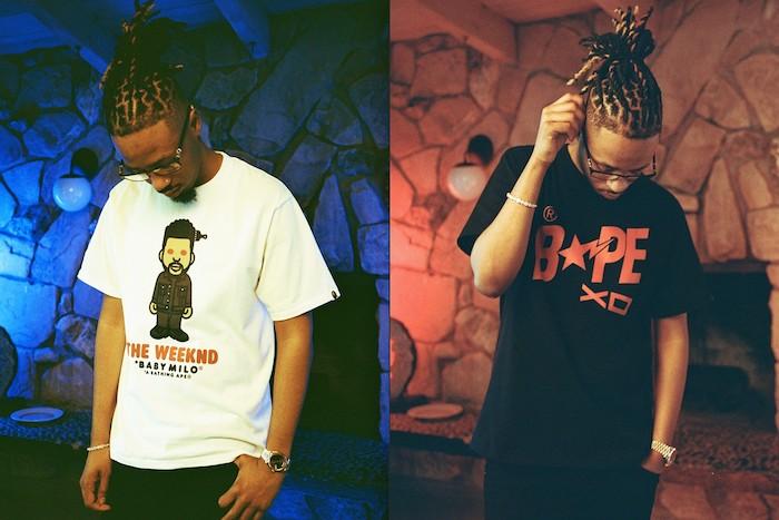 La label de The Weeknd XO et BAPE collaborent une seconde fois pour une capsule A Clothing Ape x Xo
