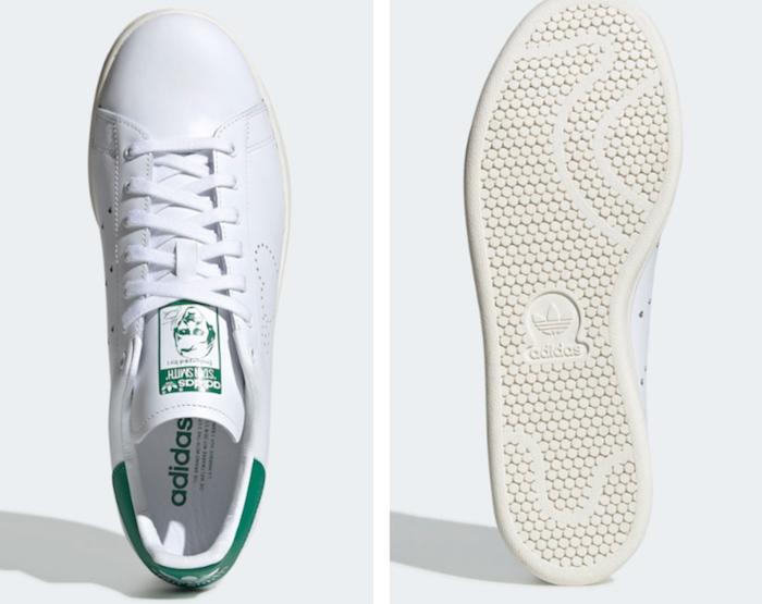 la version limitée de la sneaker Human Made x adidas Stan Smith est disponible au prix de 135 euros