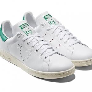 Human Made x adidas Stan Smith : la sneaker a du coeur