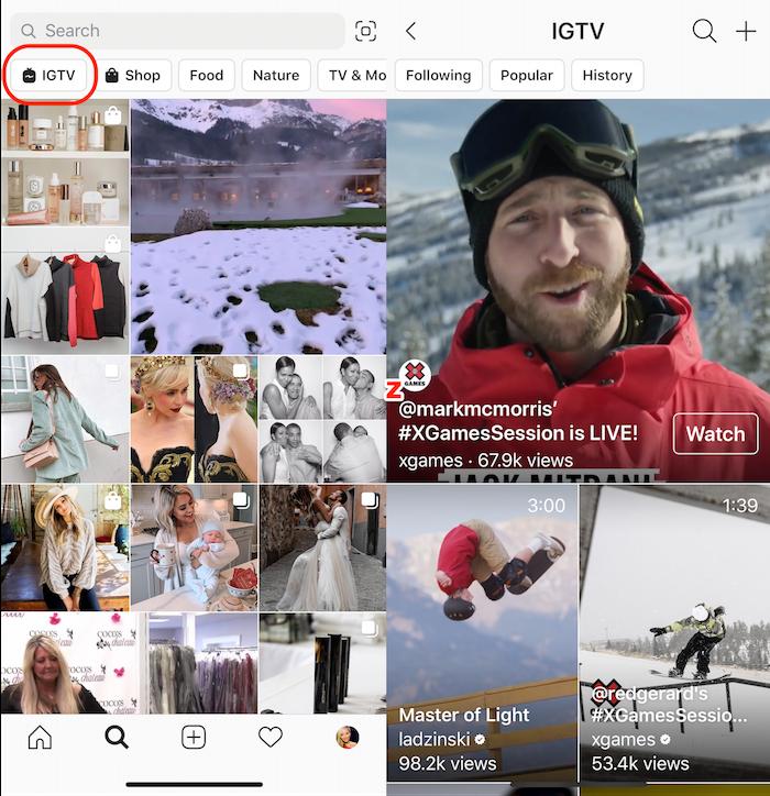 L'application vidéo IGTV sensée concurrencer Youtube pourrait disparaître d'ici peu
