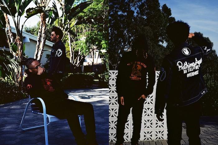 The Weeknd et A Clothing Ape livrent une nouvelle collection collaborative BAPE x XO