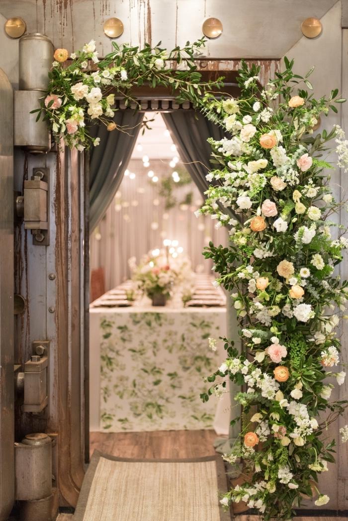 organiser une fête d'anniversaire inoubliable dans une salle aménagée de style rustique avec une deco 30 ans en blanc et vert