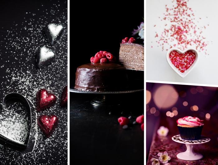 recette diner romantique à la maison, différents exemples de desserts faciles à préparer à la base de chocolat