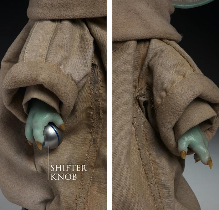 Une réplique à l'échelle de Baby Yoda est désormais disponible en précommande pour 350 dollars