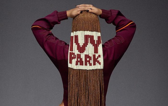 Beyoncé continue de teaser sa nouvelle collection capsule IVY Parkx Adidas en partenariat avec la marque allemande