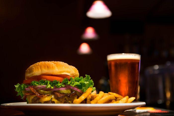 frittes et bière tiède, comment maigrir idées et astuces pour bon santé