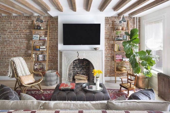 Règles d'aménagement pour le salon, idée comment organiser un point central pour le focus de la pièce