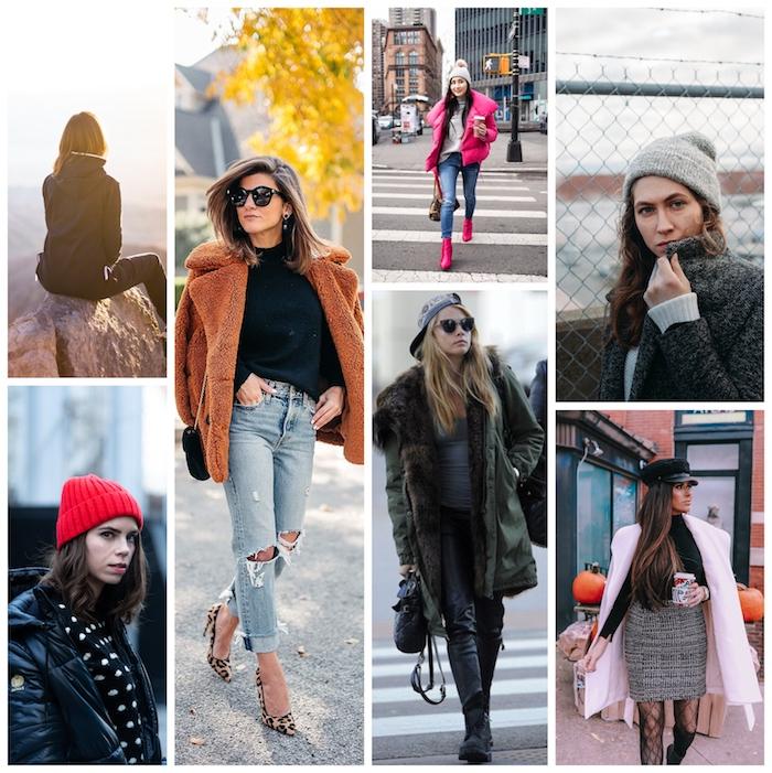 Comment s'habiller quand il fait trop froid, femme stylée bien habillée, tenue d'automne-hiver 2020