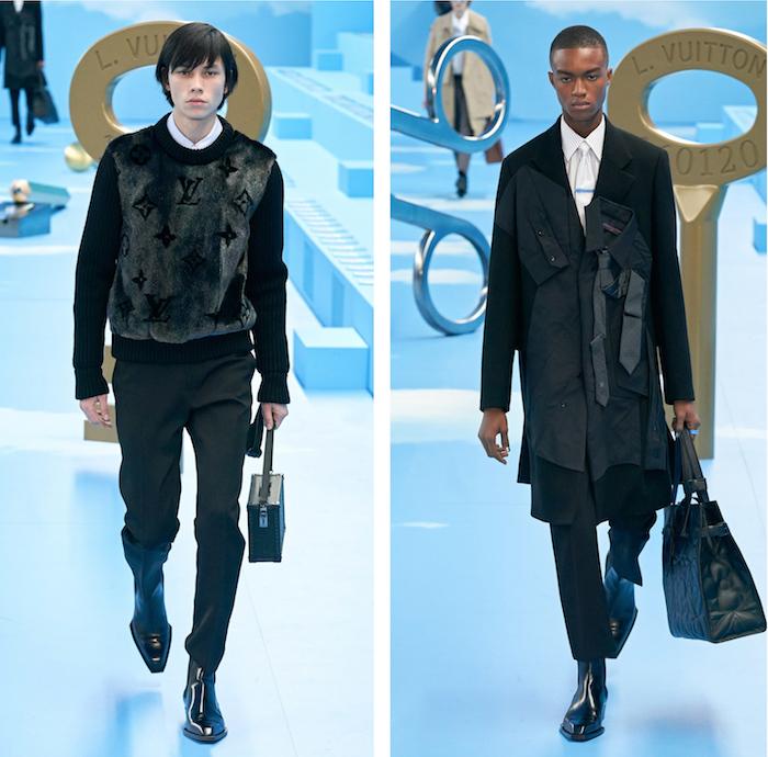 """Une collection """"Heaven On Earth"""" par Louis Vuitton qui fait place au tailoring"""