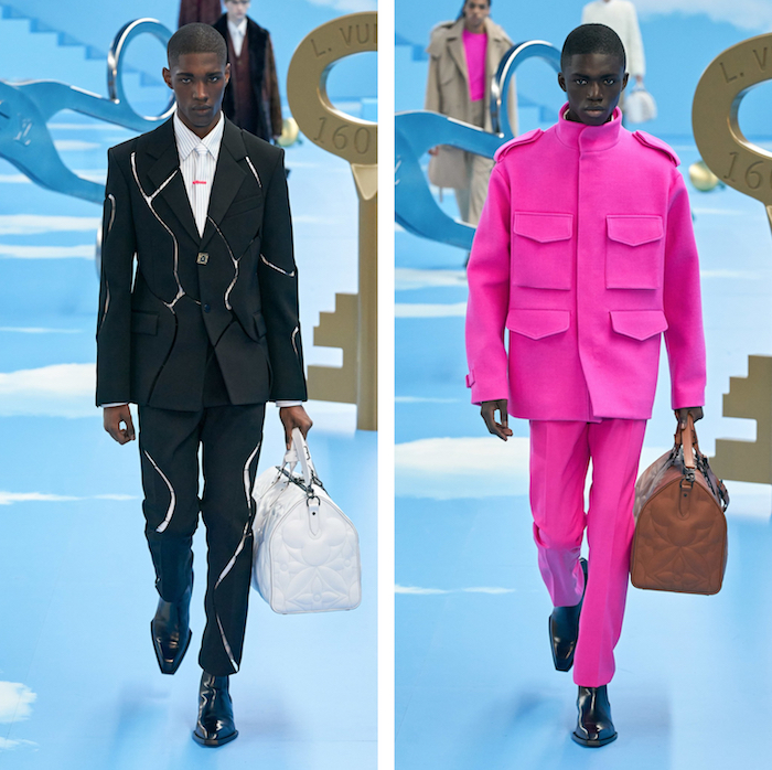 Avec sa nouvelle collection Louis Vuitton présenté à la Fashion Week de Paris, Virgil Abloh met de côté ses créations streetwear