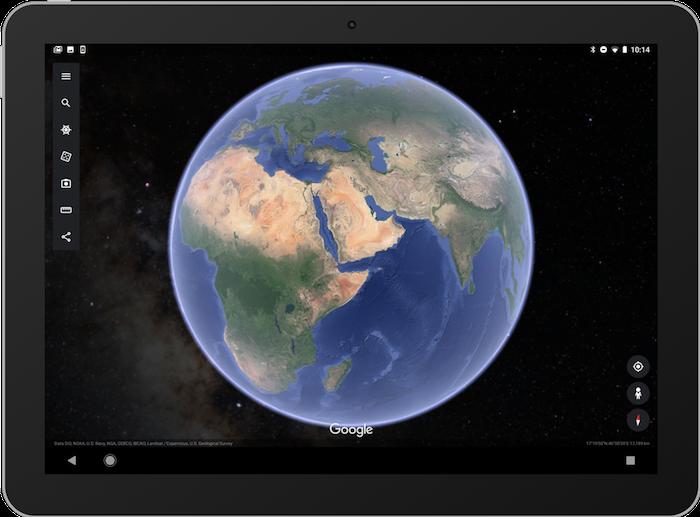 Google a mis à jour Earth pour permettre l'observation des étoiles sur son mobile