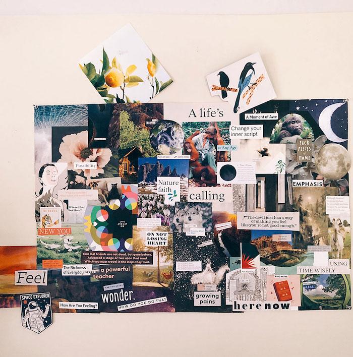 Tableau cool a mettre sur le mur comme deco, que faire quand on s'ennuie, tableau motivation, comment décorer sa chambre