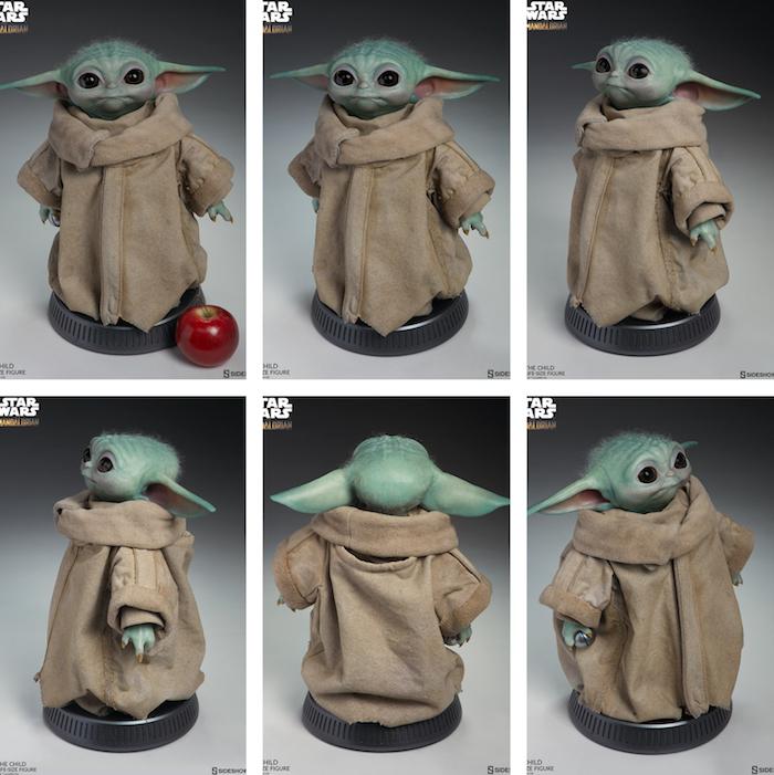 Sideshow Collectibles s'apprête à distribuer une réplique officielle de baby Yoda