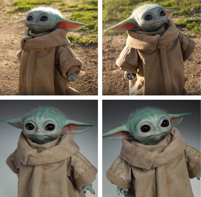 Une figurine officielle et grandeur nature de Baby Yoda va être fabriquée par Sideshow Collectibles