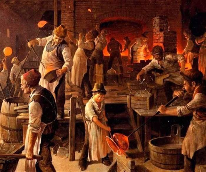 image de l histoire de la verrerie en Lorraine et du savoir-faire des maîtres verriers