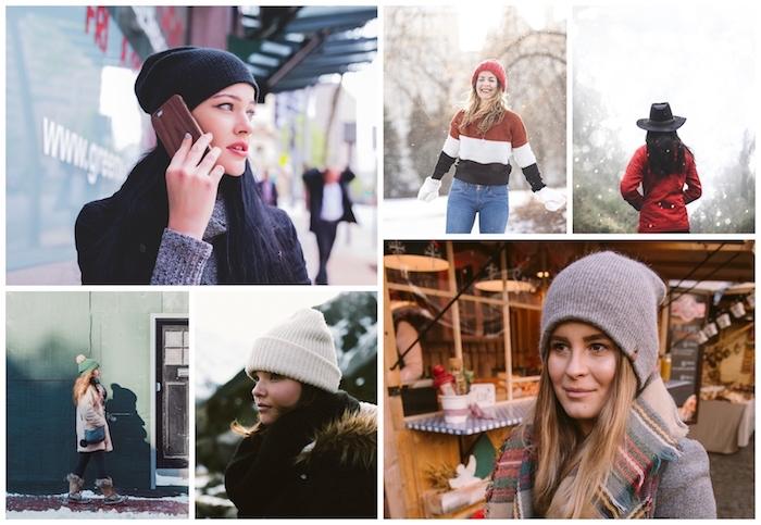 Porter une chapeau pour garder la chaleur, mode hiver femme, être une femme stylée