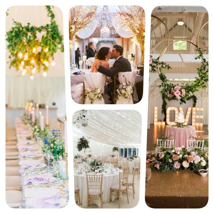 décoration salle mariage originale pour mariage romantique, champetre, élégante ou autre, quel theme mariage choisir