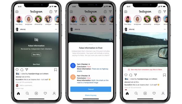 Avec sa nouvelle mesure contre les images retouchées, Instagram veut lutter contre la prolifération des fake news