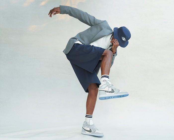 Nike et Dior ont dévoilé la collection de vêtements Air Dior qui accompagnera la sortie de la sneaker de luxe Dior x Jordan 1