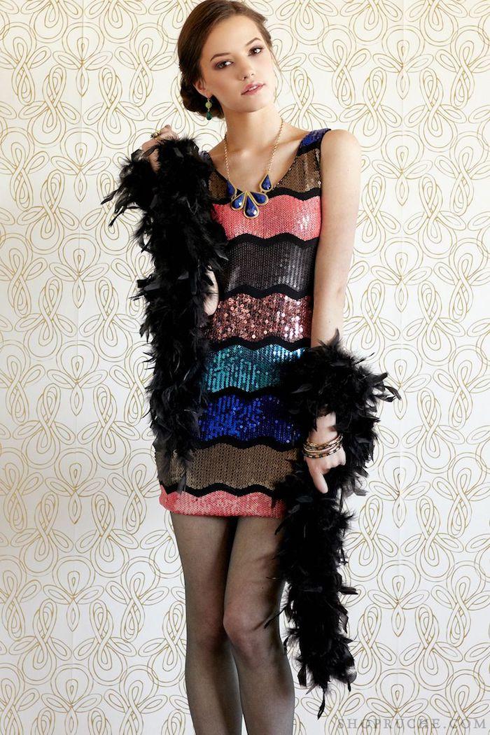Originale idée comment s'habiller pour une soirée carnabal, masque de carnaval, déguisement de carnaval chic