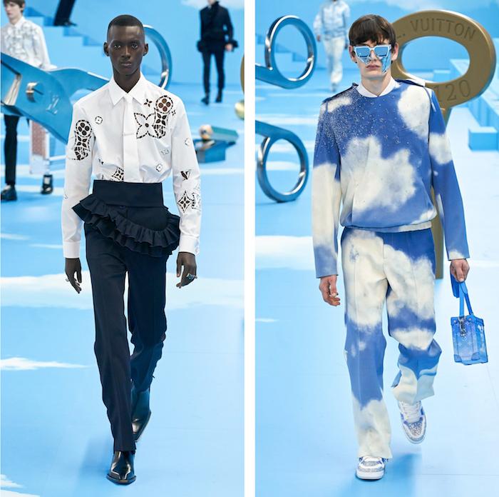 """La Fashion Week de Paris a accueilli le défilé Louis Vuitton et la collection """"Heaven On Earth"""" conçue par Virgil Abloh"""