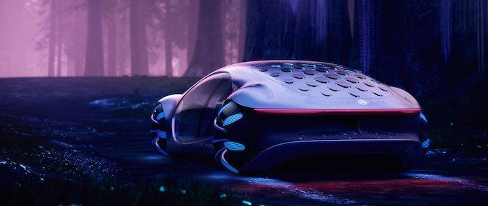 Pour concevoir la Vision AVTR, Mercedes-Benz a été épaulé par le réalisateur d'Avatar, James Cameron