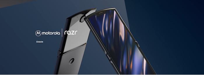 Les précommandes du Motorola Razr débuteront le 26 janvier, pour une mise en vente le 6 février