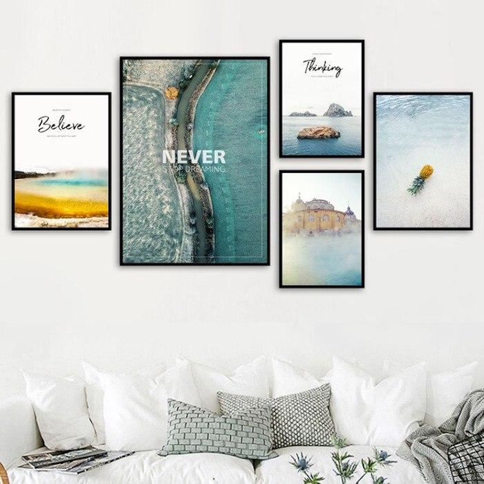 Galerie murale facile à faire avec ses plus désireux objectifs, tableau de motivation, comment se motiver à faire quelque chose