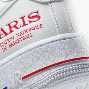 Nike dévoile une paire de Air Force 1 spéciale NBA Paris Game