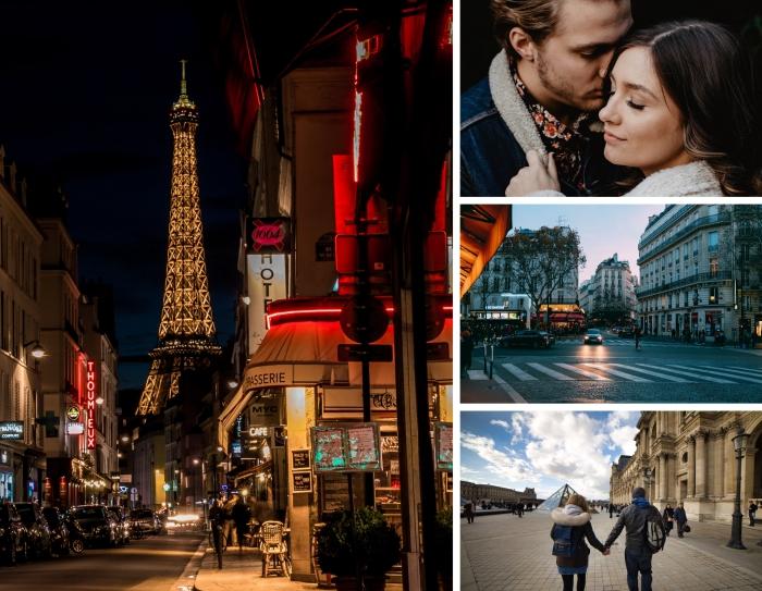 activite a faire a 2, se balader sur les rues de Paris au coucher de soleil, idée sortie en amoureux au centre ville