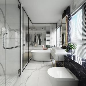 La salle de bain en marbre blanc - les plus beaux exemples pour vous inspirer
