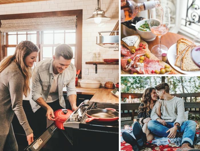 idée d'activité en couple à essayer ce week-end, comment bien s'amuser en amoureux en préparant son dîner ensemble