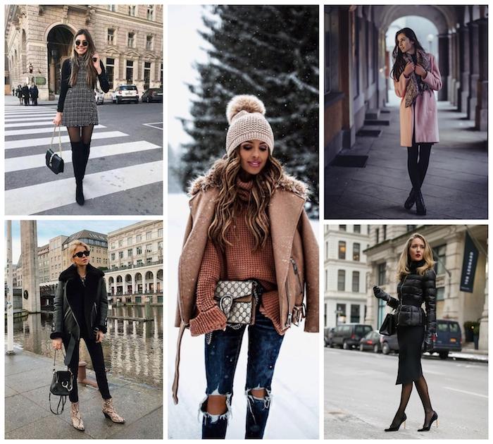 Comment s'habiller en hiver sans avoir trop chaud ni trop froid, choisir à s'habiller bien à la mode en hiver