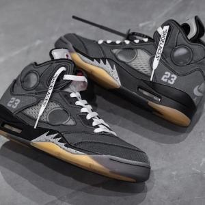 La Off-White x Air Jordan 5 se dévoile plus en détails