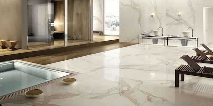 Zen aménagement petite salle de bain, couleur salle de bain, petit piscine d'eau dans la grande salle d'eau luxueuse